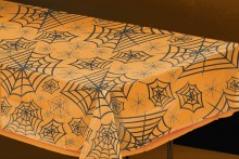 Tablecover Spider Web Clear