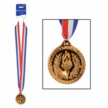 Bronze Medal W/Ribbon
