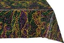 Mardi Gras Beads Tablecover