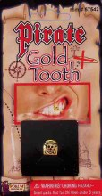 Gold Tooth Pirate W/Skull