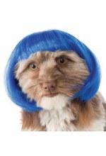 Wig Pet Blue Bob M/L