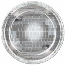 Disco Ball Plate 10in