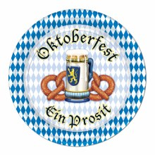 "Oktoberfest 7"" Plates"