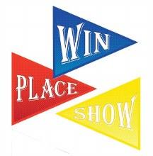 Win Place Show Cutouts