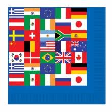 International Flag Bev Nap
