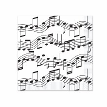 Music Note 7in Plate