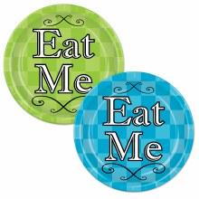 "Eat Me 9"" Plates"