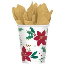 Christmas Wishes 9oz Cups
