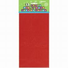 Bags Paper Red 12pk