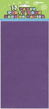 Bags Paper Purple 12pk