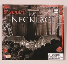 Necklace Bat Silver