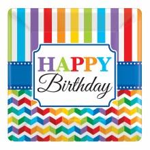 Bright Birthday 10in Plt