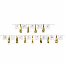 Happy Birthday Tassel Streamer