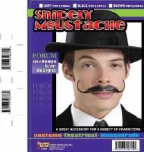 Moustache Snidley Black