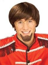 Goatee Brown Human Hair