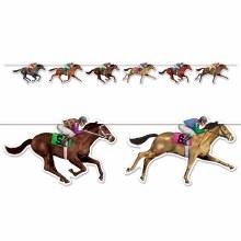 Horse Racing Streamer 6ft