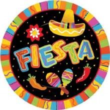 Fiesta Fun 10in Plate 8ct