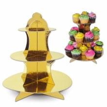 Metallic Cupcake stand