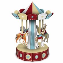 3D Vintage Circus Centerpiece