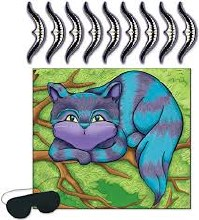 Game Pin Smile On Cheshire Cat