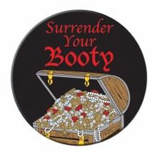 Pirate Button Surrender Yo Boo