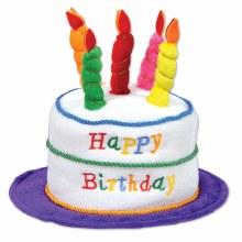 Hat Birthday Cake