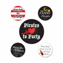 Buttons Pirate Party