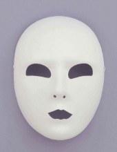 Mask Half Full Face Wht