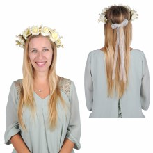Floral Crown White