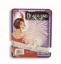 Headband Flapper Silver