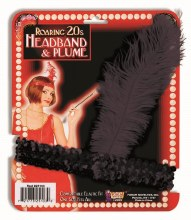 Headband Flapper Black