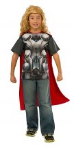 Thor T-Shirt Child Lg