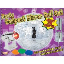 Mirror Ball Set 8in