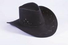 Cowboy Hat Faux Suede