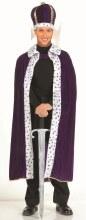 King Robe Crown Purple