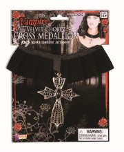 Medallion Cross Velvet