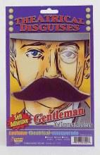 Moustache Gentleman Blk