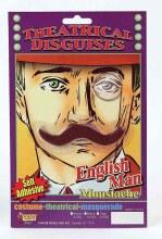 Moustache Englishman Brn