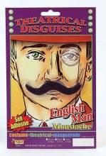 Moustache Englishman Blk