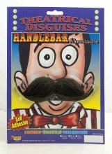 Moustache Handlebar Black
