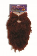 Beard and Moustache Full Brown