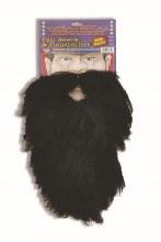 Beard and Moustache Full Black