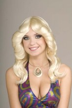 Wig 70's Disco Doll Blonde