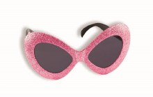 Glasses Mod Glitter Pink