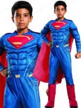 Superman Dlx Muscle Child Lg