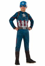 Captain America Classic Child Med