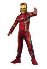 Iron Man Dlx M/C Child Sm