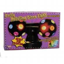 Disco Ball Rotating w/2 Lights