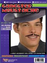 Moustache Gangster Blk
