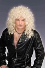 Wig 80's Wild Curl Blonde